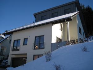 Einfamilienwohnhaus mit 2 Pultdächern und Unterkellerung