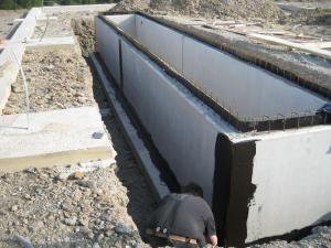 Herstellung einer Reparatur-Grube