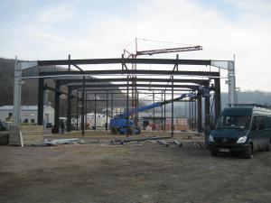 Lagerhalle mit Büro (Bauunternehmen)