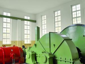 Sanierung des Maschinenhauses einer Zeche,(Schwerspatförderung)